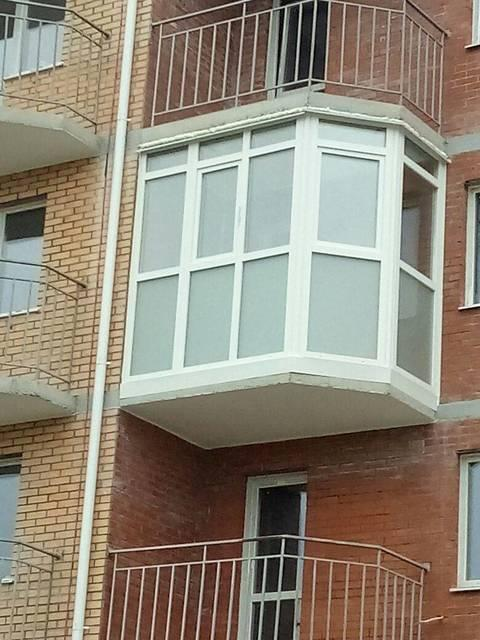 Окна балконы лоджии (вынос, обшивка, утепление). Французские балконы. (5)