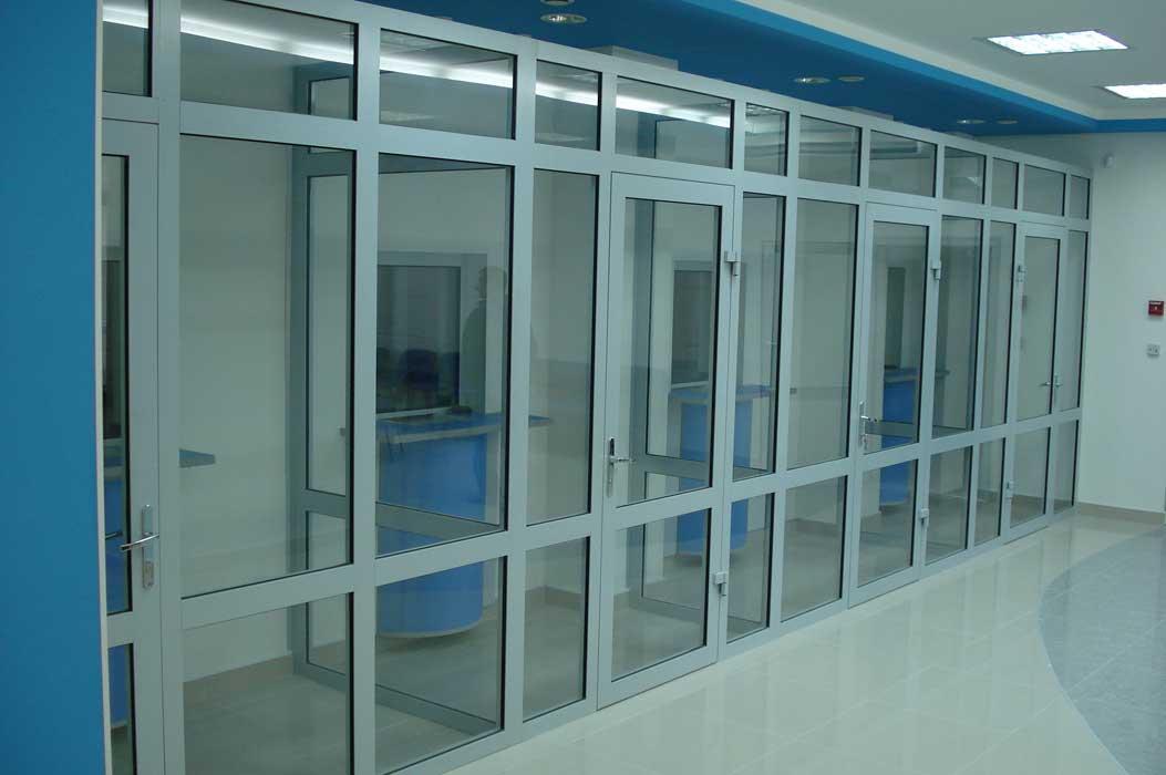 Алюминиевые окна, двери, перегородки. Стильные и современные. (3)
