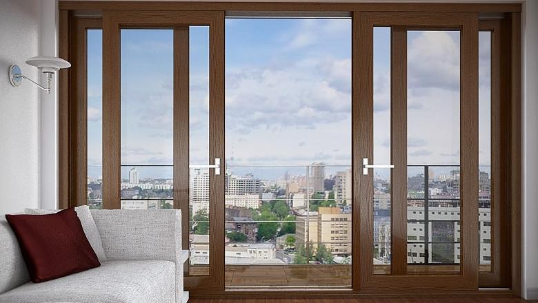 Раздвижные пластиковые двери и окна по доступной цене. (6)