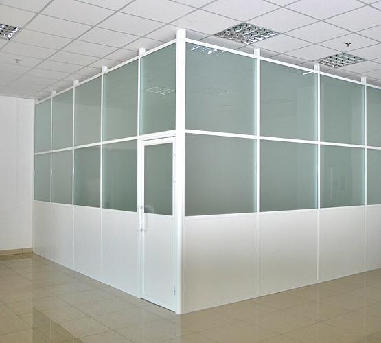 Пластиковые офисные перегородки. Недорого. (5)