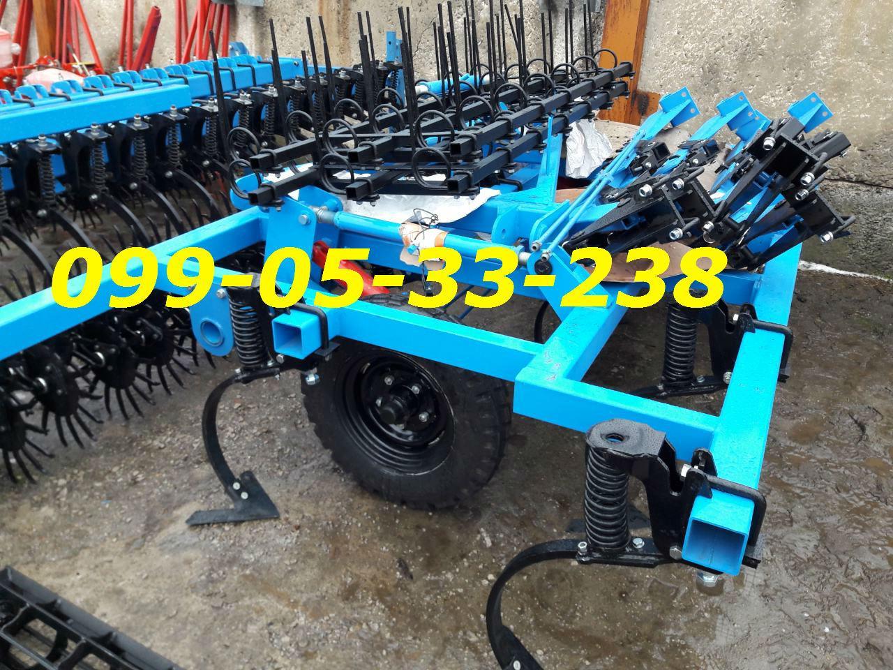 недорого культиватор с катком и пружинами КШГ Культиватор КГШ-4 КПС-4 (5)