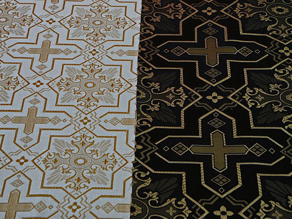 Греческая ткань церковной тематики от производителя (2)