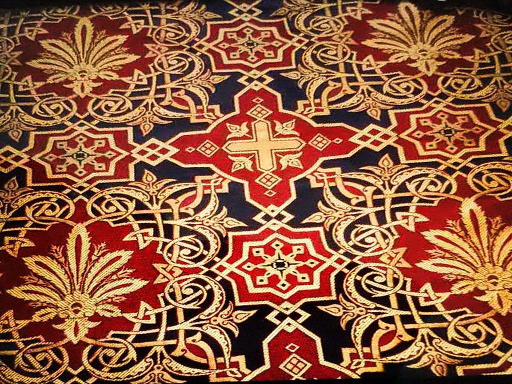 Греческая ткань церковной тематики от производителя (5)