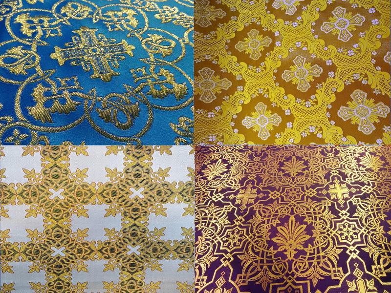 Греческая ткань церковной тематики от производителя (3)