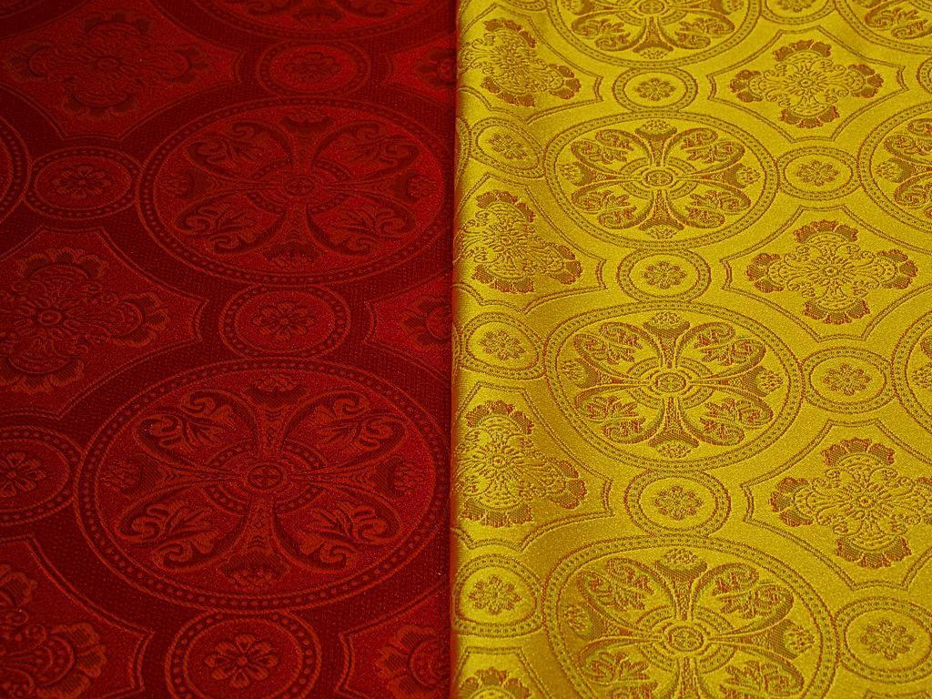 Греческая ткань церковной тематики от производителя (4)