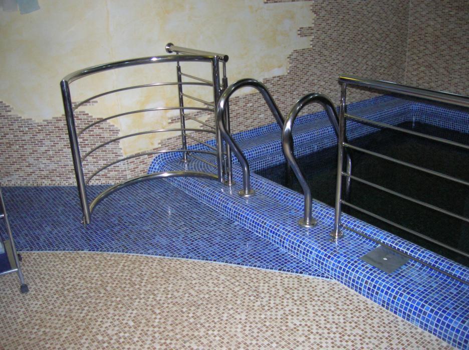 Перила и поручни из нержавеющей стали (4)