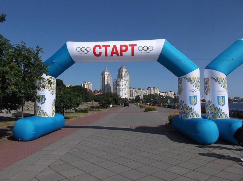 Пневмоконструкции и атрибутика для спортивных мероприятий Sports inflatables (3)