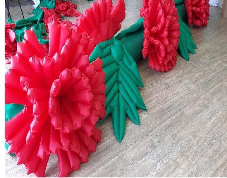 Надувные гирлянды и цветы Inflatable lanterns and apartments Цена за 1 м (6)