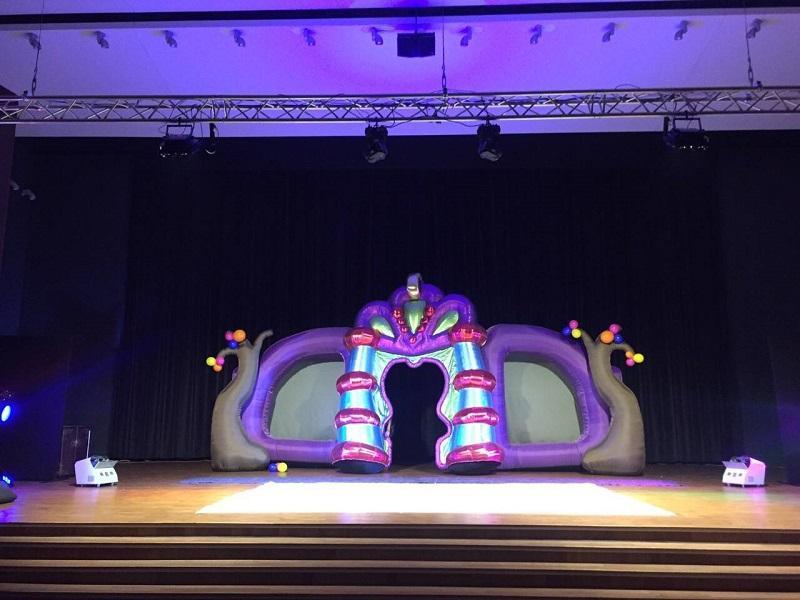 Надувные сценические декорации Inflatable stage decorations (2)