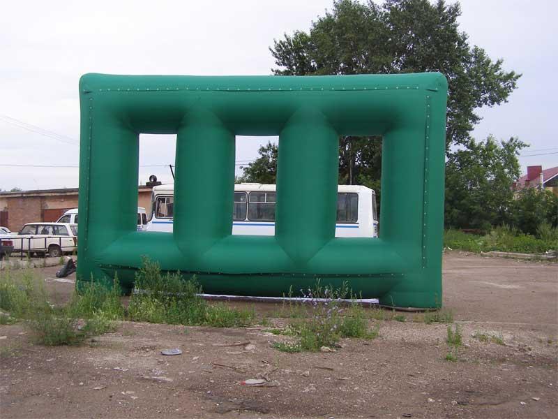 Надувные конструкции для оформления выставок (3)
