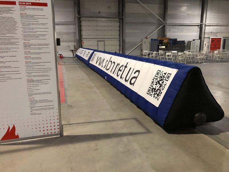 Надувной забор Inflatable fence пит-уолл (4)