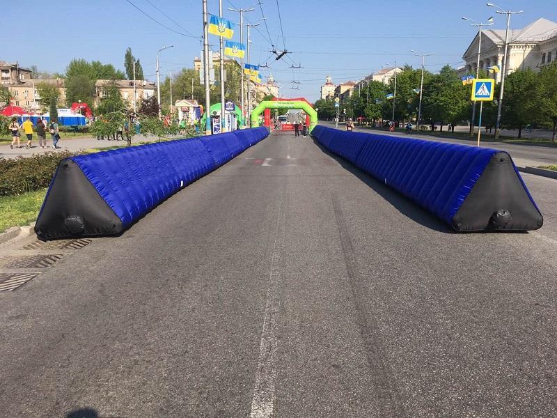 Надувной забор Inflatable fence пит-уолл (2)
