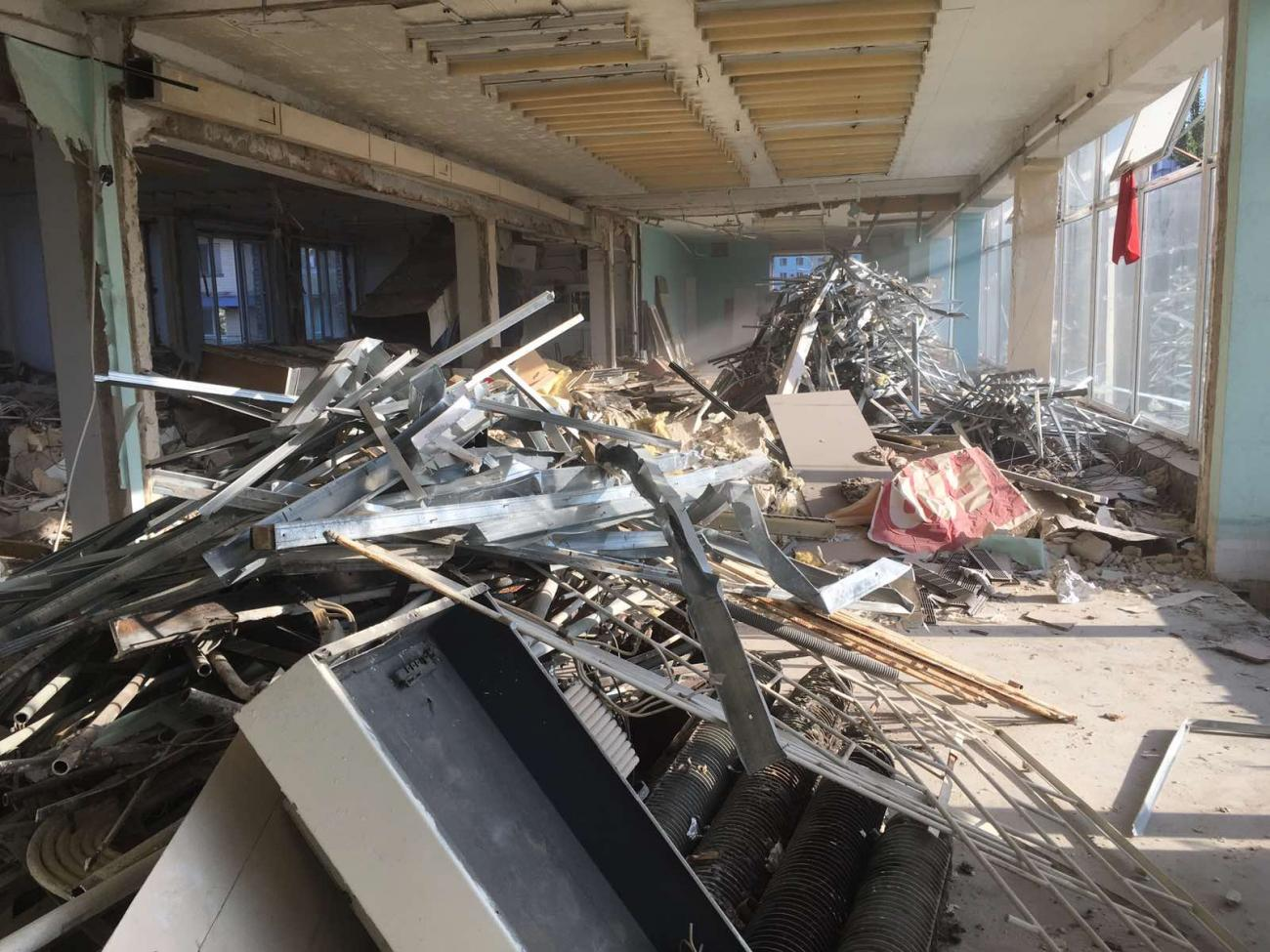Ручной демонтаж зданий и сооружений (2)