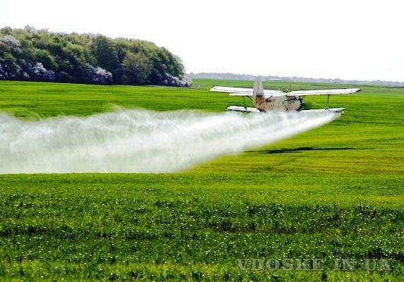 Авіаобробка ріпаку пшениці сої кукурудзи гвинтокрилом дельтапланом самольотом (3)