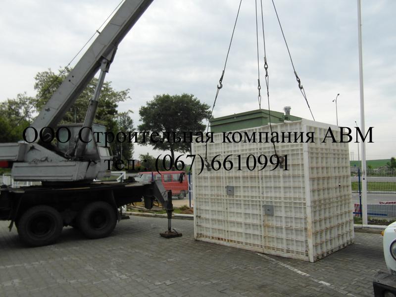Канализация дома из бетонных колец (5)