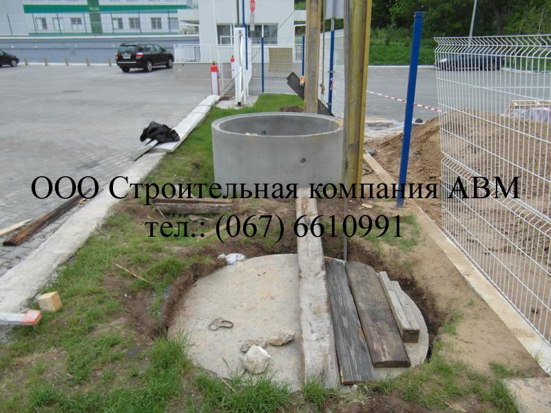 Канализация коттеджного поселка Киев Киевская область (5)