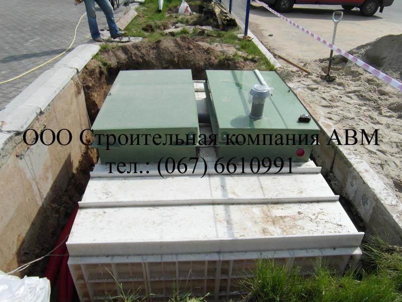 Канализация коттеджного поселка Киев Киевская область (2)
