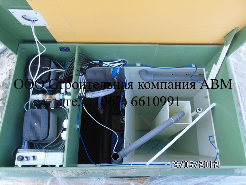 Канализация коттеджного поселка Киев Киевская область (3)