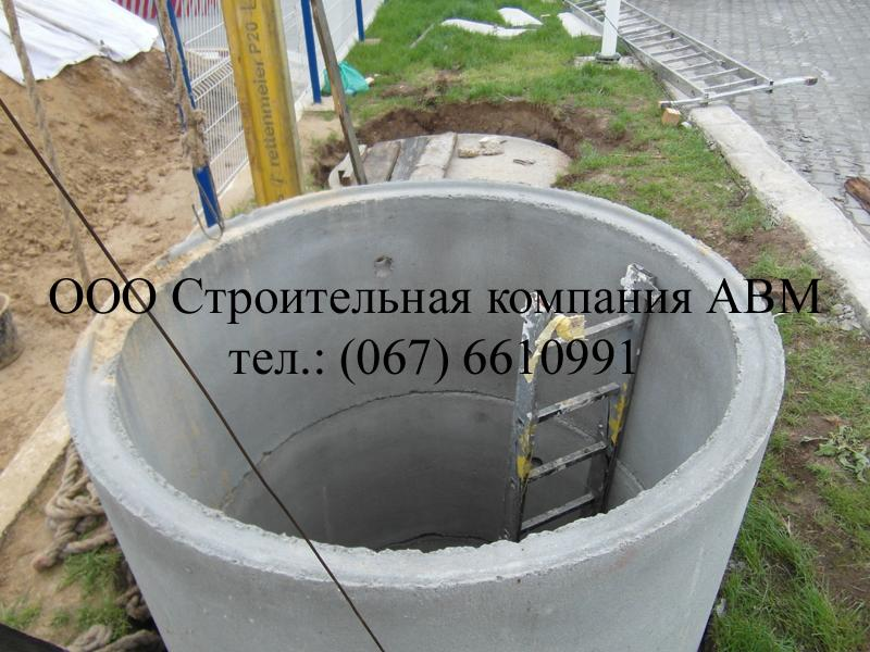 Канализация коттеджного поселка Киев Киевская область (4)