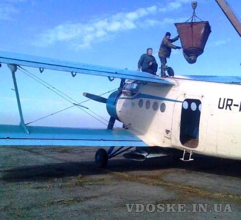 Услуги разбрасывателя удобрений: вертолет Ми-2 самолет Ан-2 Чмелак (3)