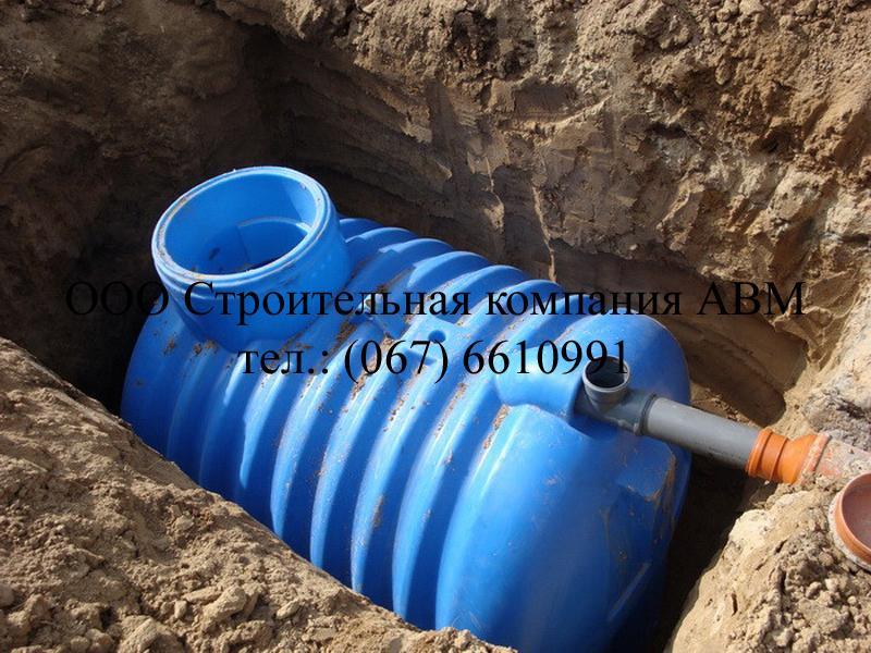 Септик из бетонных колец (6)