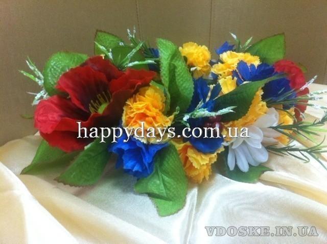 Гавайские лейсы, леи. Весенний декор (3)
