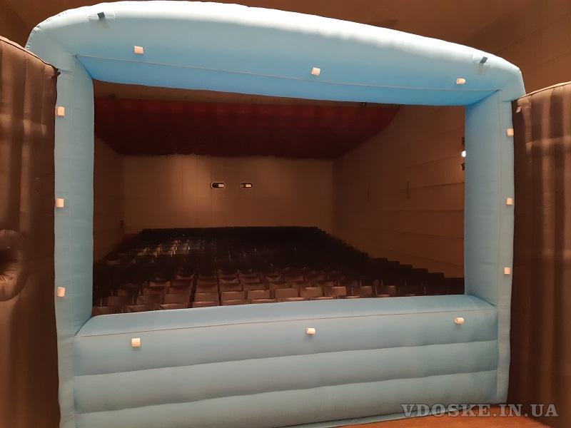 Надувные туннели c подсветкой  inflatable tunnel (4)