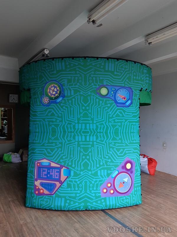 Надувные туннели c подсветкой  inflatable tunnel (6)