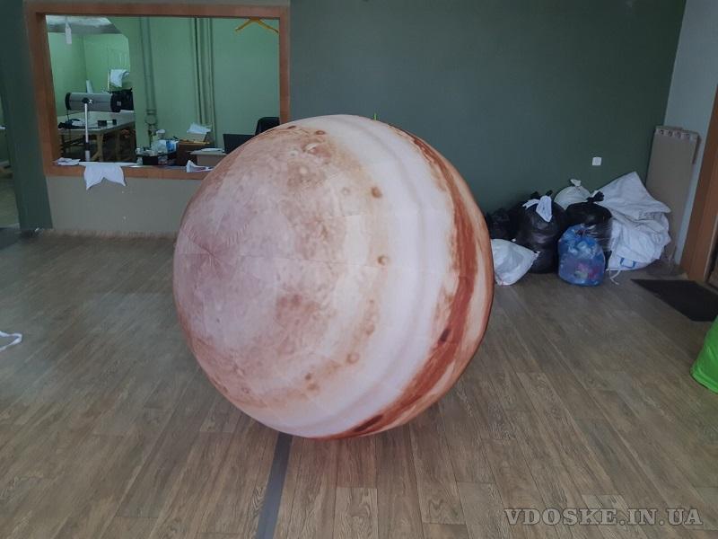 Надувные сферические шары для рекламы (5)