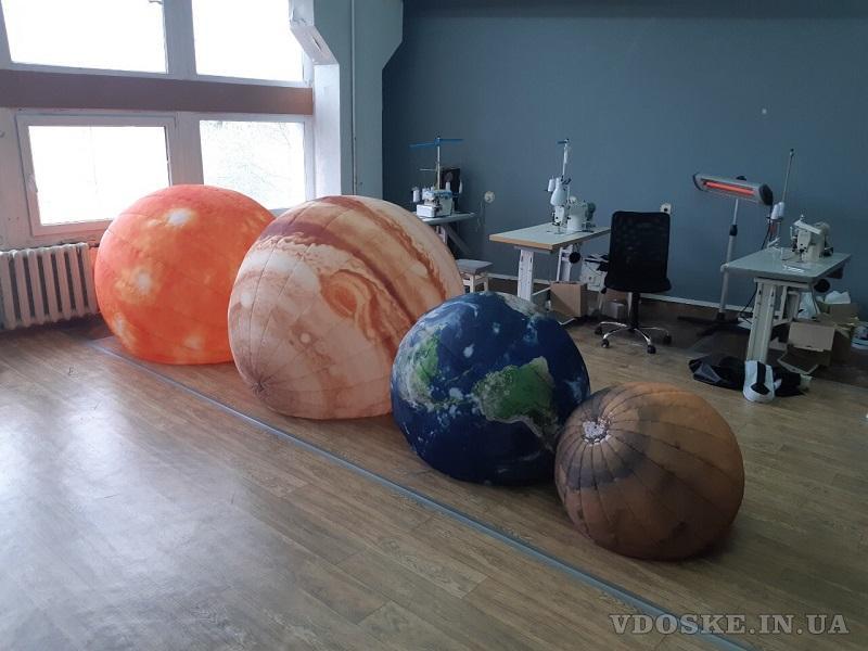 Надувные сферические шары для рекламы (4)