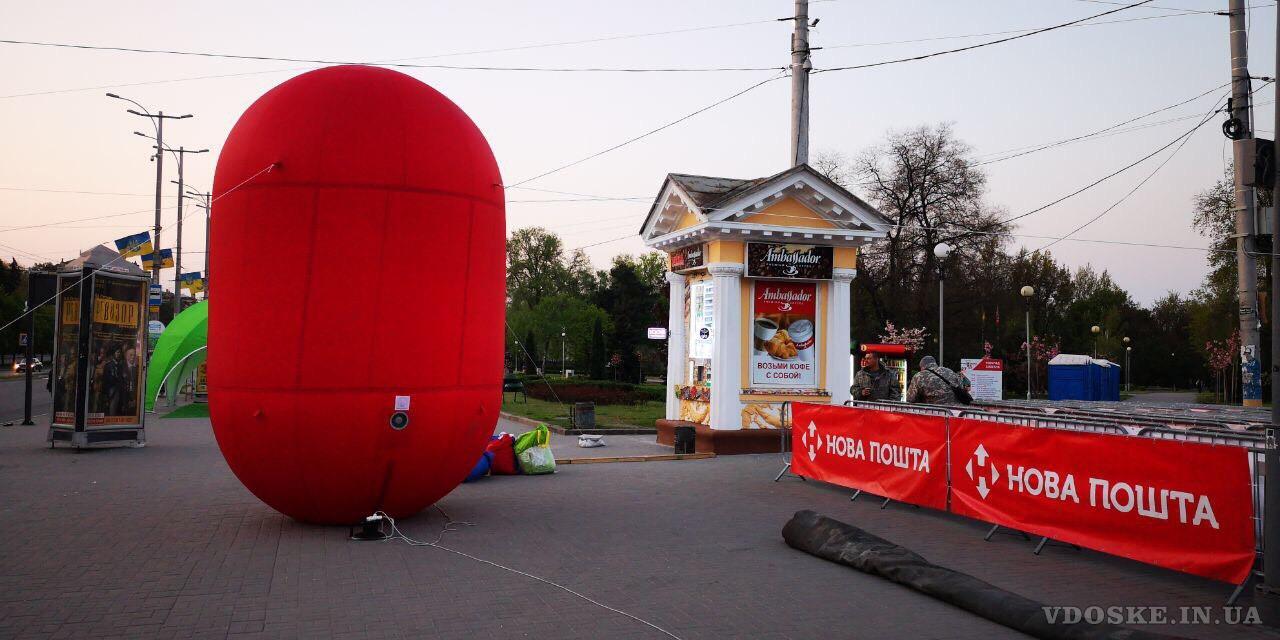 Надувные сферические шары для рекламы (2)