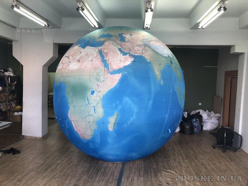 Надувные сферические шары для рекламы (6)