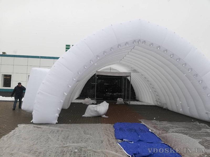 Pneumoframe Inflatable Rescue Tent Надувная спасательная палатка (2)