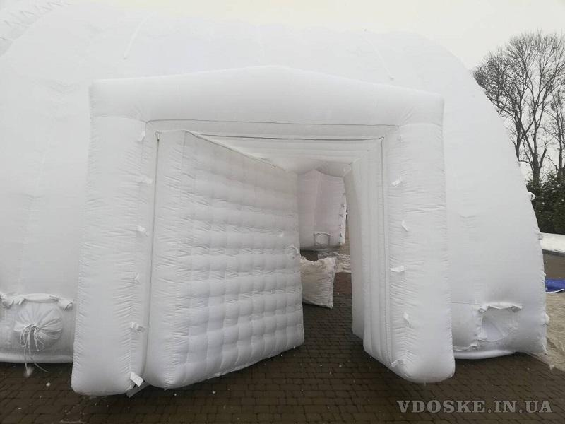 Pneumoframe Inflatable Rescue Tent Надувная спасательная палатка (3)