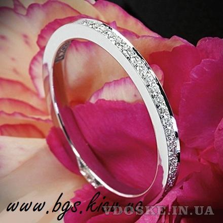 Обручальные кольца из белого золота (3)