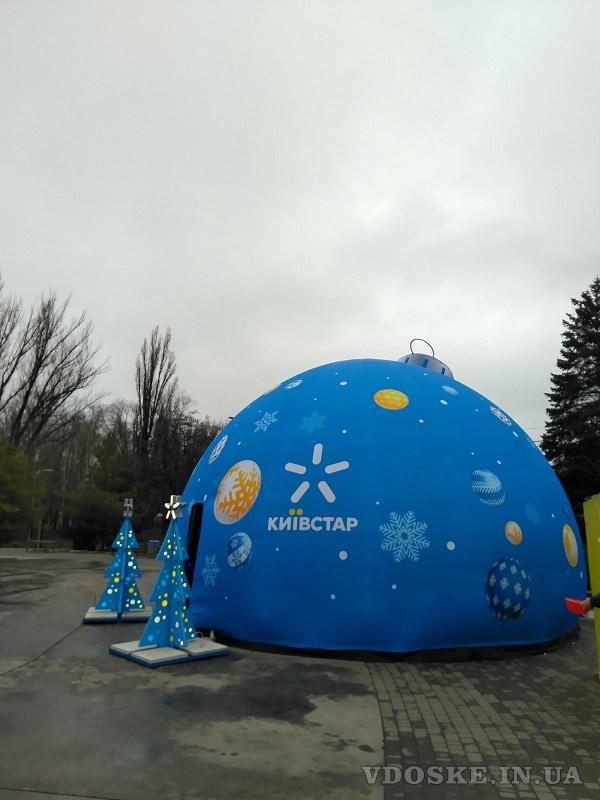 Advertising inflatable sphere Надувные сферы наружной рекламы (5)