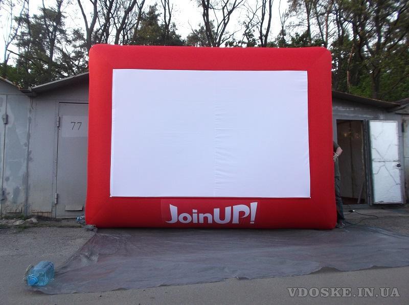 Надувные киноэкраны уличного кино Inflatable screens (6)