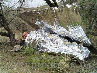 Спасательное термоодеяло из майлара (3)
