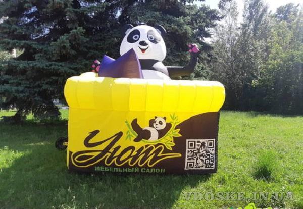 Исключительные методы маркетинга и наружной рекламы inflatable tubeguy with blower (5)