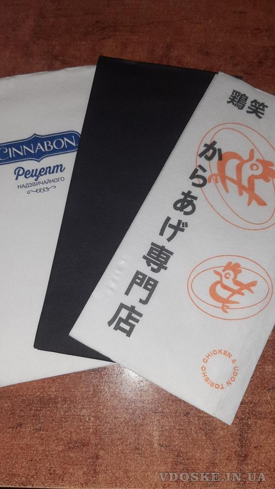 """Салфетки и крафтовые  пакеты """"соше"""" от производителя с логотипом Вашей компании (3)"""