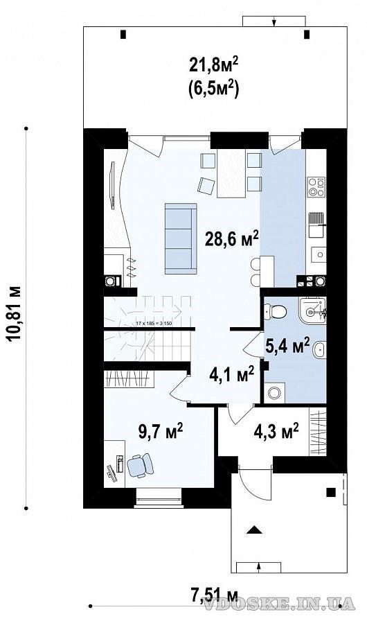 Дом под ключ – 990000 грн. (3)