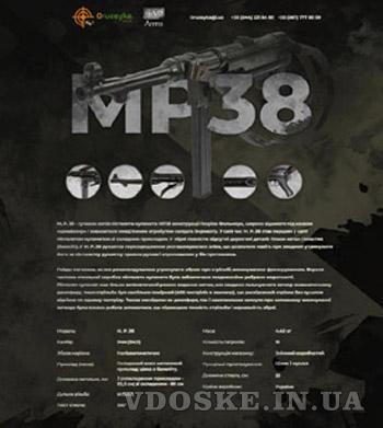 Пистолет-пулемет MP-38 (МП-38) «Шмайссер» (2)