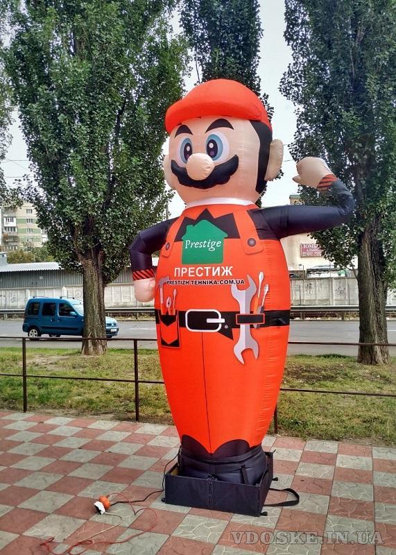 Inflatable dancers  для привлечения внимания и рекламы бренда (4)