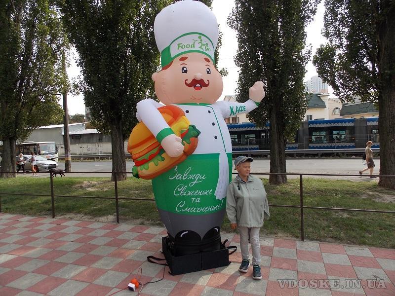 Inflatable dancers  для привлечения внимания и рекламы бренда (2)
