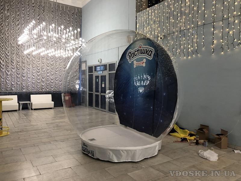 Надувные снежные шары Inflatable Snow Globe (2)