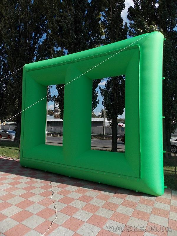 Комплект для наружного кино Inflatable Screen (4)