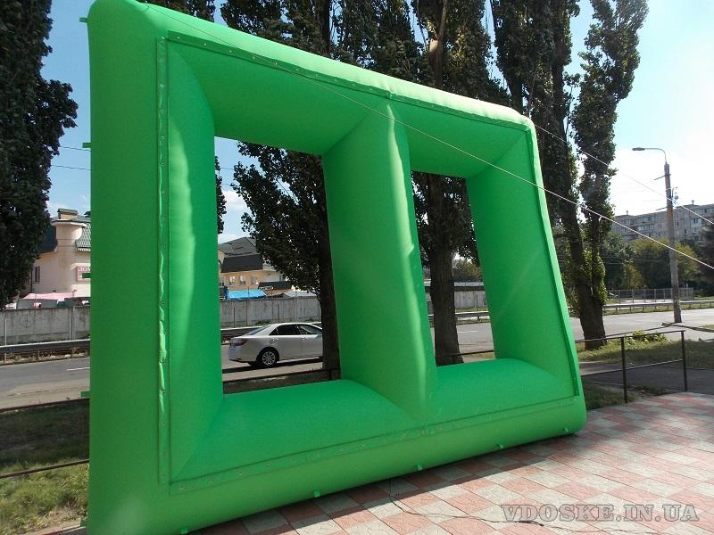 Комплект для наружного кино Inflatable Screen (5)
