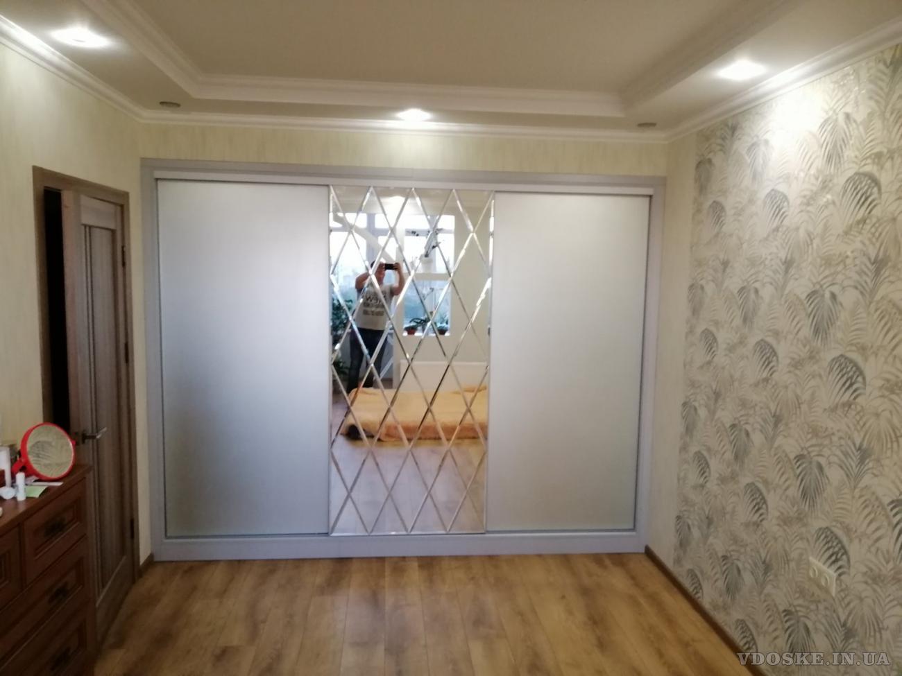 Зеркала, стекло в изделиях для мебели. ПАННО.  Монтаж. (3)