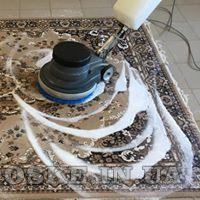 Профессиональная стирка ковров в цеху (2)