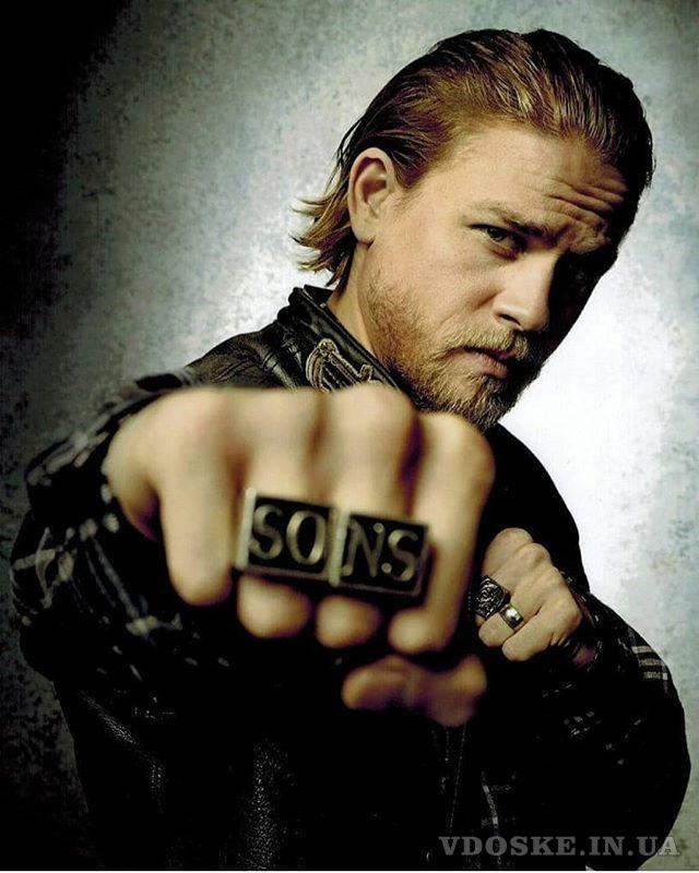 Байкерские кольца Сыны анархии SO-NS (2)